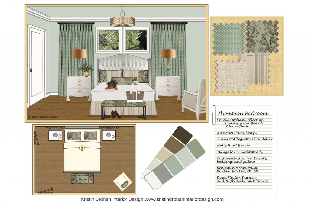 Interior design services the kristin drohan collection for Interior design services